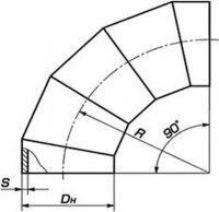 Отвод  ОСТ 34-42-663-84