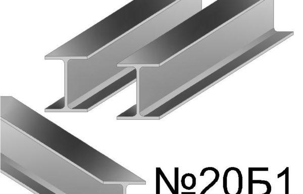 Балка двутавровая Б1,Б2, Ш1, Ш2, К1, К2,  СТО-АСЧМ 20-93