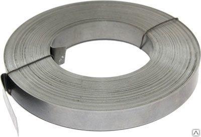 Лента стальная упаковочная 0,5х20, 0,7х20, 0,8х10, 1,0х30