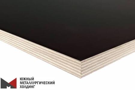 Ламинированная фанера берёза Россия 12 мм, 1220х2440